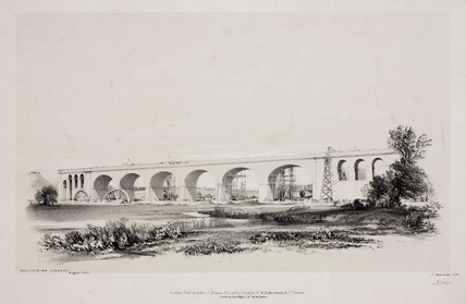 'Wolverton Viaduct, August 1837'.