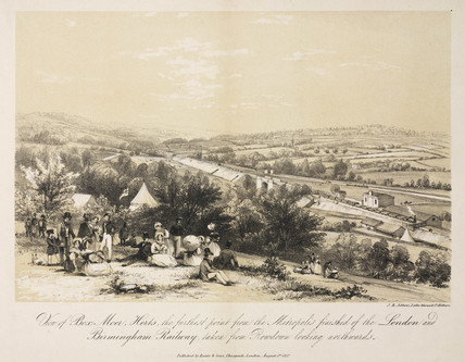 'View of Box Moor Herts', 1837.