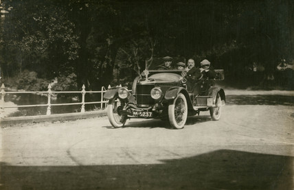 Vauxhall competing in a reliability trial, c 1912.