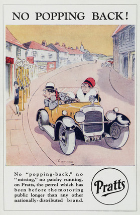 'No Popping Back', c 1920.
