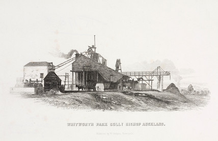 Whitworth Park Colliery, Bishop Auckland, Durham, 1844.