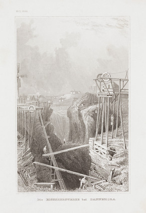 Iron mine shaft, Dannemora, Sweden, 19th century.