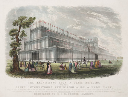 The Crystal Palace, London, 1851.