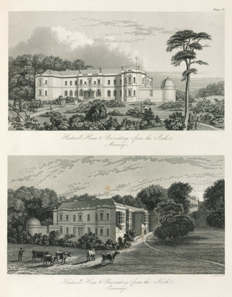 The observatory at Hartwell Manor, Buckinghamshire, 1851.