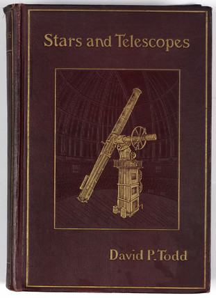 Cover to 'Stars and telescopes', 1899.