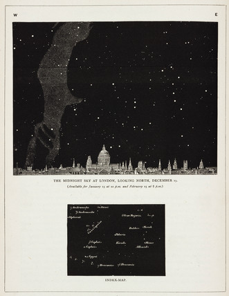 'The Midnight Sky at London, Looking North, December 15', 1891.