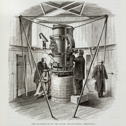 'The Altazimuth at the Royal Observatory, Greenwich', 1891.