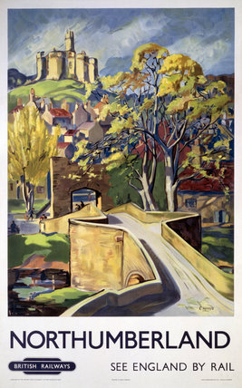'Northumberland', BR poster, 1948-1965.