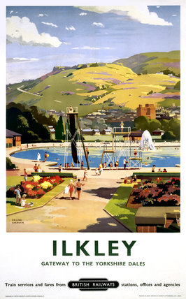 'Ilkley', BR poster, 1957.