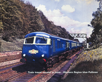 'Train Travel Second to None...', BR (WR) poster, c 1950s.