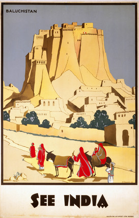 'See India', Indian State Railways poster, 1931.