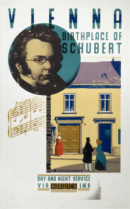 'Vienna, Birthplace of Schubert', LNER poster, 1931.