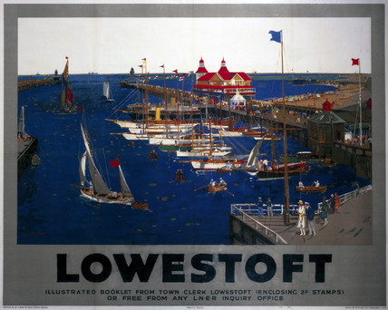 Lowestoft Lner Poster 1930 By Mason Frank Henry At