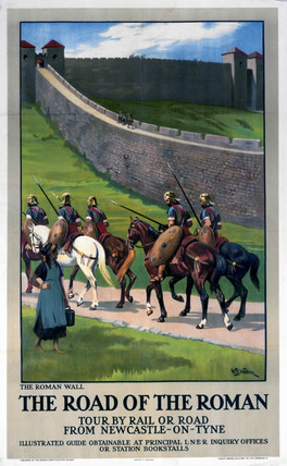 'The Road of the Roman', LNER poster, 1923-1947.