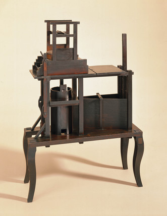 Model of a corn mill, 1753.