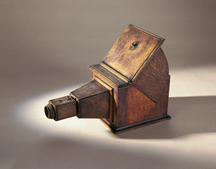 Camera obscura, early 18th century.