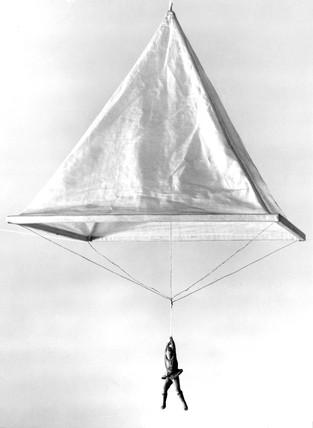 Model Of A Leonardo Da Vinci Parachute 1470 1520 At