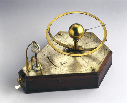 Model of the transit of Venus, 1748-1761.