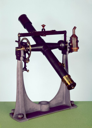 Portable transit instrument, 1840-1860.