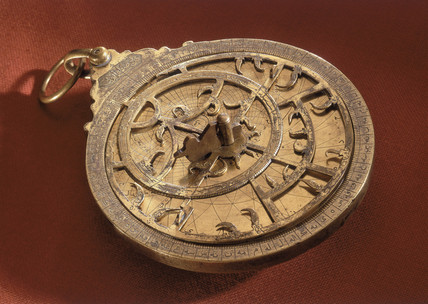 Arabian planispheric astrolabe, 1605.