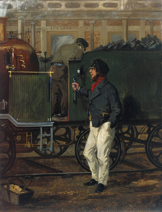 'The Driver of the Mail', 1852.