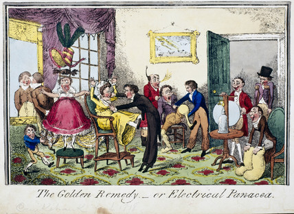 'The Golden Remedy - or Electrical Panacea', 1818.