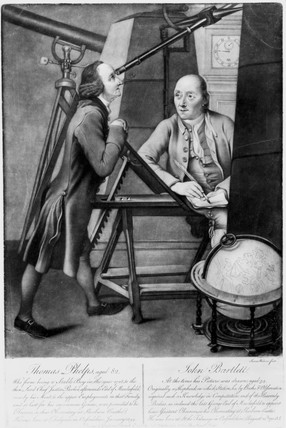 Thomas Phelps and John Bartlett, English astronomers,  1778.