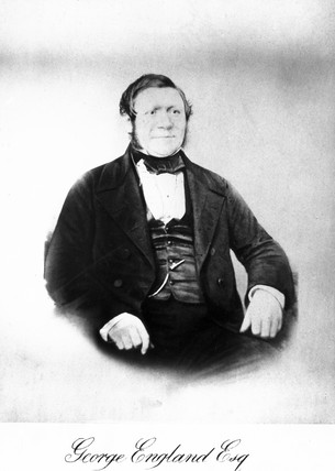 George England, English locomotive maker, mid-19th century.