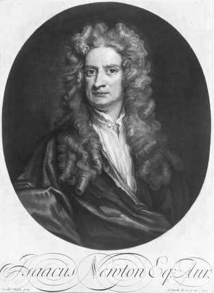 Sir Isaac Newton, English mathematician and physicist, 1712.