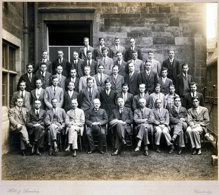Cavendish Laboratory Researchers, 1928.
