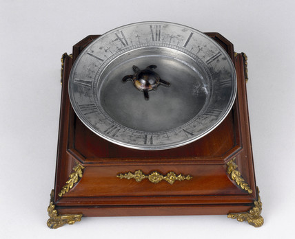 'Tortoise' clock, probably 19th century.