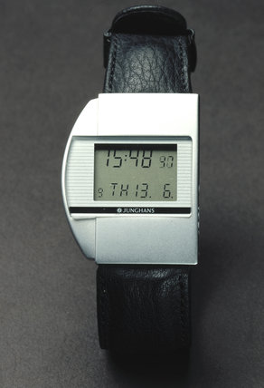 Junghans 'Mega 1' digital quartz wristwatch, 1990.