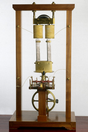 Pixii's magneto-electric machine, 1832.
