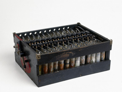 Milnes high tension battery, 1930-1935.
