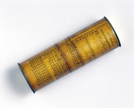 McFarlane calculating cylinder, 19th century.