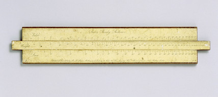 Bate's ready reckoner, 1824. Slide rule mad