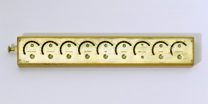 Roth's calculating machine, 1843. Invented