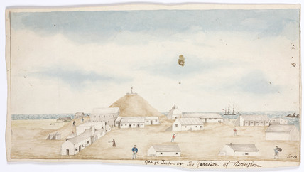 'George Town, or the Garrison at Ascension', 1828-1831.