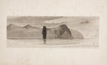 Northwest point of St Antonio, South Atlantic, 1828-1831.