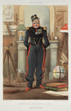 'France 1864 - A Superior Officer of  Genius'