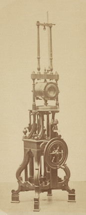 Air pump made for King George III, 1876.