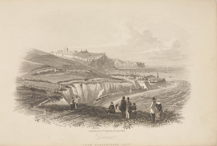 'Dover, from Shakespeare Cliff', Kent, 23 September 1844.