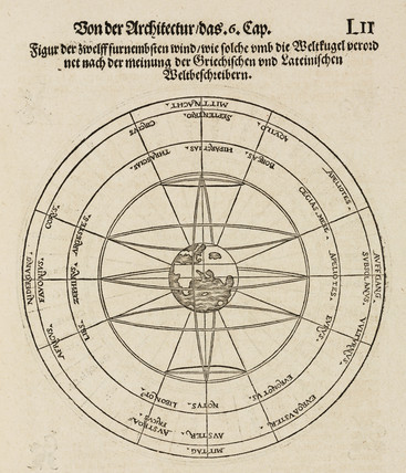 The dial of the winds, 1548.