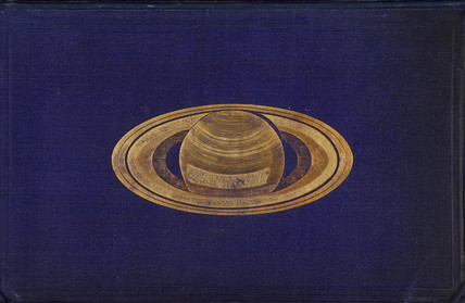 Cover to 'Saturn and its system', 1865.