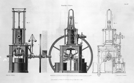 Maudslay's table engine, 1838.