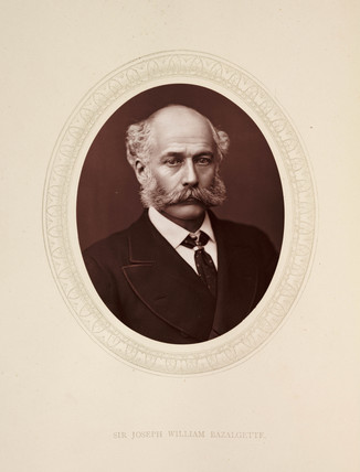 'Sir Joseph William Bazalgette', 1877.
