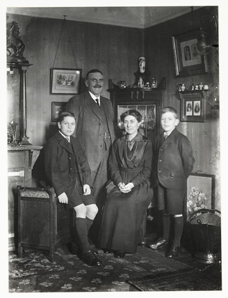 Family group, c 1915.