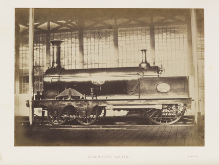 'Locomotive Engine', 1851.