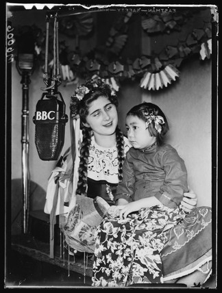 BBC radio broadcast, 1943.