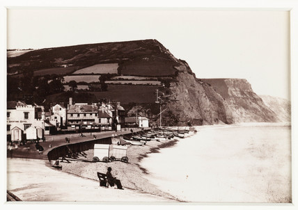 'Sidmouth, the Esplanade, From the West', c 1880.